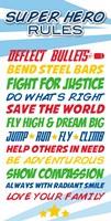 Superhero List Fine-Art Print
