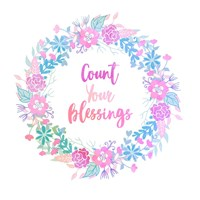 Count Your Blessing-Pastel Fine-Art Print