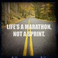 Life's a Mararthon Fine-Art Print