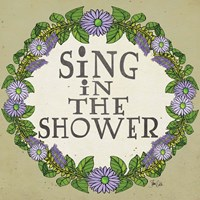 Sing in the Shower Fine-Art Print