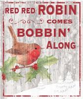 Red Red Robin Fine-Art Print