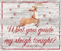 Guide My Sleigh Fine-Art Print