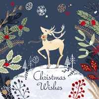 Christmas Wishes - Reindeer Fine-Art Print