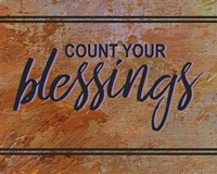 Count Your Blessing-Brown Fine-Art Print