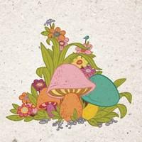 Bold Mushroom Fine-Art Print