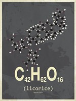 Molecule Licorice Fine-Art Print