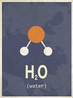 Molecule Water Fine-Art Print