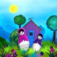 Babushka Home Fine-Art Print