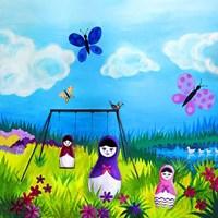 Babushka Play Fine-Art Print