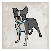 Nerdy Terrier 2 Fine-Art Print