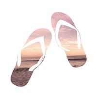 Sandy Sandals Fine-Art Print