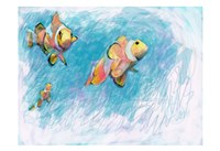 Clowfish Trio Fine-Art Print