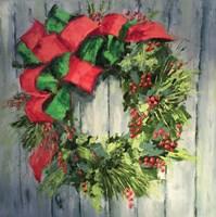 Holiday Wreath Fine-Art Print