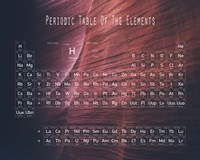 Periodic Table Canyon Wall Fine-Art Print
