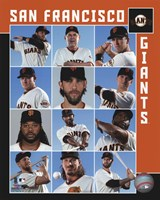 San Francisco Giants 2017 Team Composite Fine-Art Print