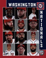 Washington Nationals 2017 Team Composite Fine-Art Print