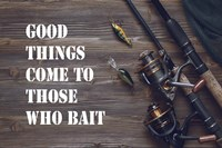 Good Things Come To Those Who Bait - Brown Fine-Art Print