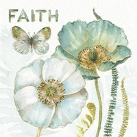 My Greenhouse Flowers Faith Fine-Art Print