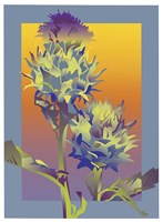 Blue Thistle Fine-Art Print