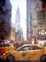 Rainy Madison Avenue Fine-Art Print
