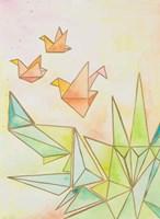 Origami Cranes Fine-Art Print