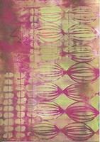 Texture - Pink Lime Fine-Art Print