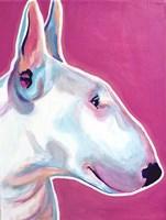 Bull Terrier - Bubble Gum Fine-Art Print
