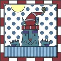 Max Cat Peek-A-Boo 1 Fine-Art Print