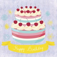 BDay Cake Fine-Art Print