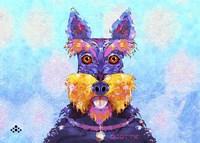Scottie Dog L Fine-Art Print
