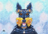 Scottie Dog LI Fine-Art Print