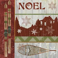 Lodge Greetings Noel Fine-Art Print