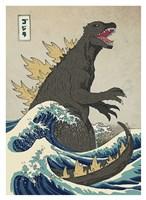 The Great Monster off Kanagawa Fine-Art Print