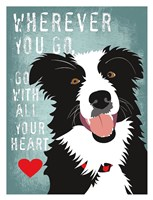 Go with All Your Heart Fine-Art Print