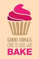 Good Things Come To Those Who Bake- Strawberry Fine-Art Print