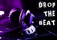 Drop The Beat - Purple and Blue Fine-Art Print