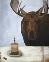 Chocolate Moose Fine-Art Print