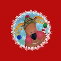 Christmas Critters Reindeer Fine-Art Print