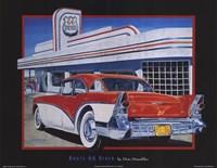 Route 66 Diner Fine-Art Print