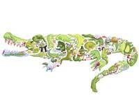 Crocodile Fine-Art Print