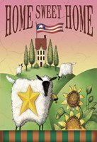 Sheep Home Sweet Home Fine-Art Print