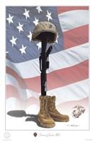 USMC Some Gave All Fine-Art Print