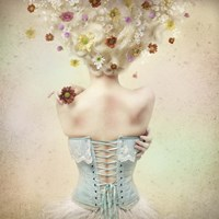 Girl of the Flower Garden Fine-Art Print