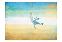 Birds On The Beach Fine-Art Print
