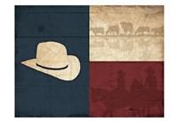 Texas Hat Fine-Art Print