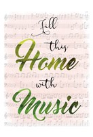 Musical Home Fine-Art Print