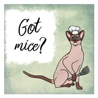 Got Mice Fine-Art Print