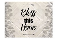 Bless This Home Quote Fine-Art Print