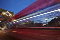 Bus Tower Bridge Fine-Art Print