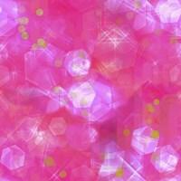 Glitter Love Pink Pattern Fine-Art Print